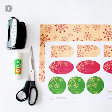 Weihnachten: Geschenkanhänger drucken