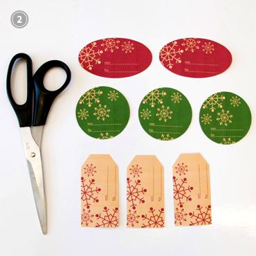 Weihnachten: Geschenkanhänger basteln