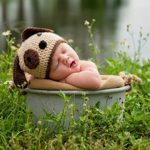 Babyfotografie - Kreativität