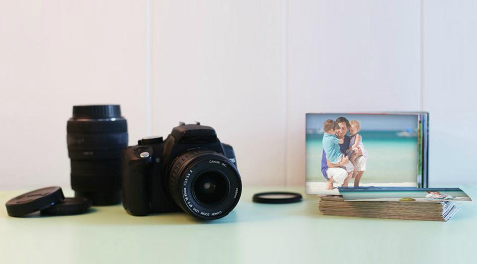 Schöner Fotografieren Spiegelreflexkamera
