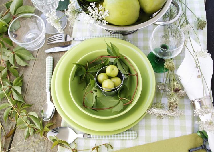 Rustikale Hochzeit Tischdekoration