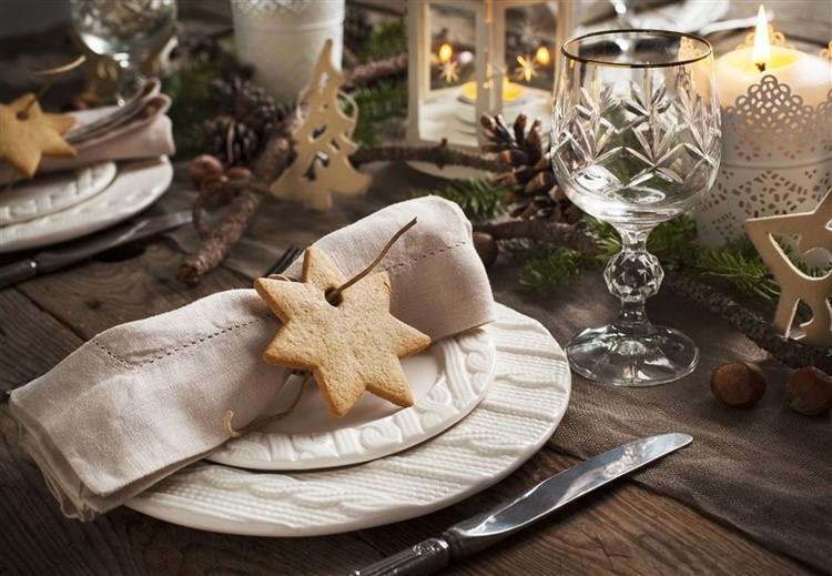 Winter Tischdekoration Hochzeit